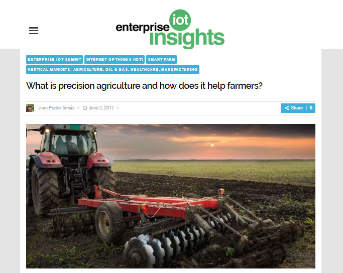 What is precision agriculture and how does it help farmers