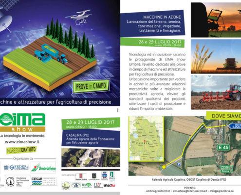 Eima Show Umbria 2017 prove in campo per l'agricoltura di precisione