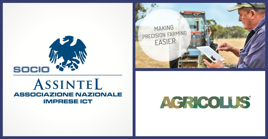 Agricolus enters Assintel, national association of ICT companies.
