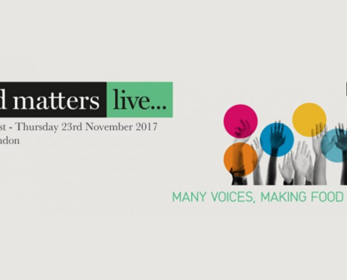 Agricolus a Food Matters Live 2017, many voices making food matters