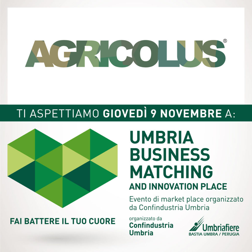 Agricolus a UBM and Innovation Place Umbria