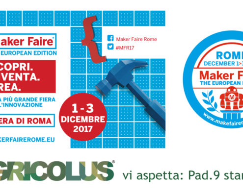 Agricolus at Maker Faire Rome 2017