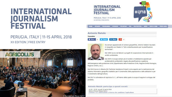 International Journalism Festival 2018: agriculture on the stage