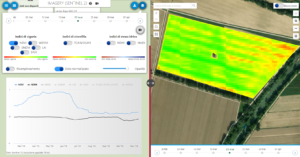Indice NDVI in Agricolus