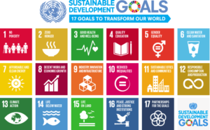17 Sustainable Development Goals to 2030