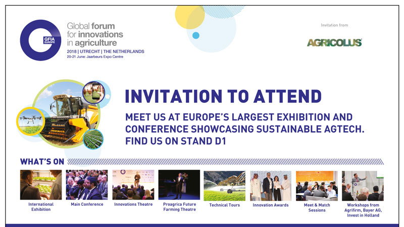 GFIA Europe 2018: welcome to the future of agriculture