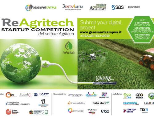 ReAgritech Startup Competition: aperta la call