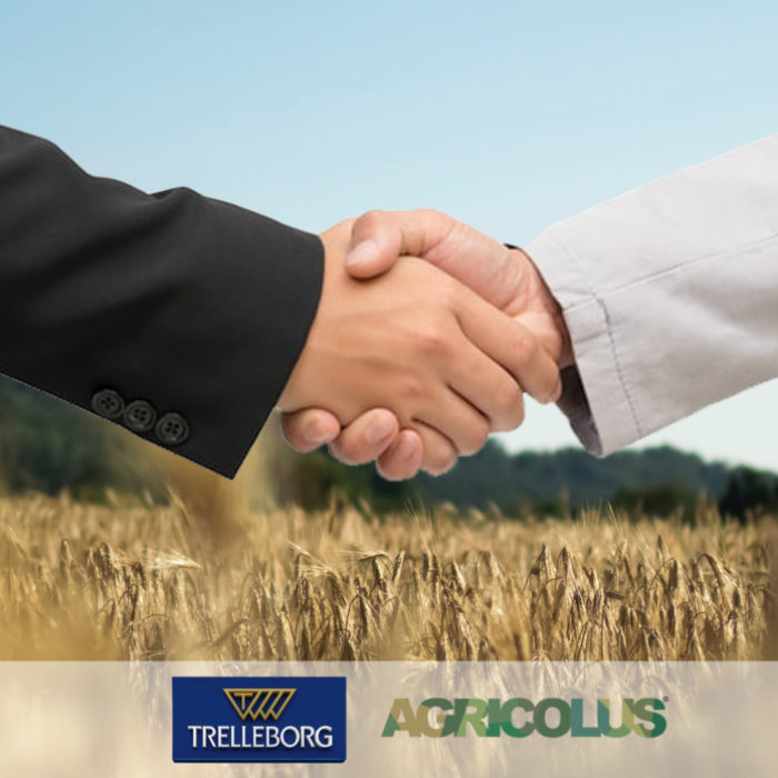 Partnership tra Trelleborg e Agricolus: l'annuncio ad Agritechnica 2019