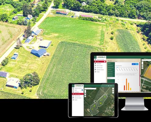 managing and monitoring several farms