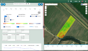 imagery feature for vineyard