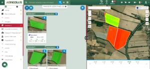 """Funzionalità """"Imagery"""" della piattaforma Agricolus"""